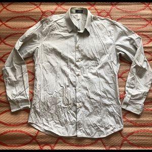 vintage GIANNI VERSACE Gray cotton shirt size L